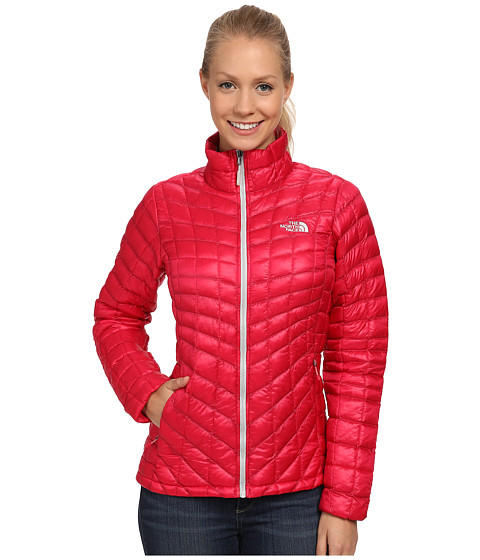 The North Face - ThermoBall Jacket (Rose Red) Women