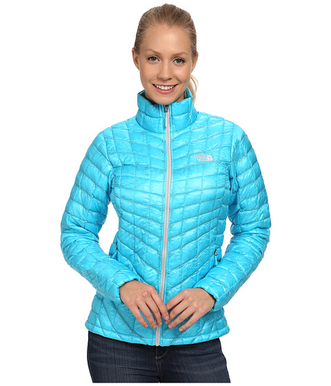 The North Face - ThermoBall Jacket (Turquoise Blue) Women's Coat