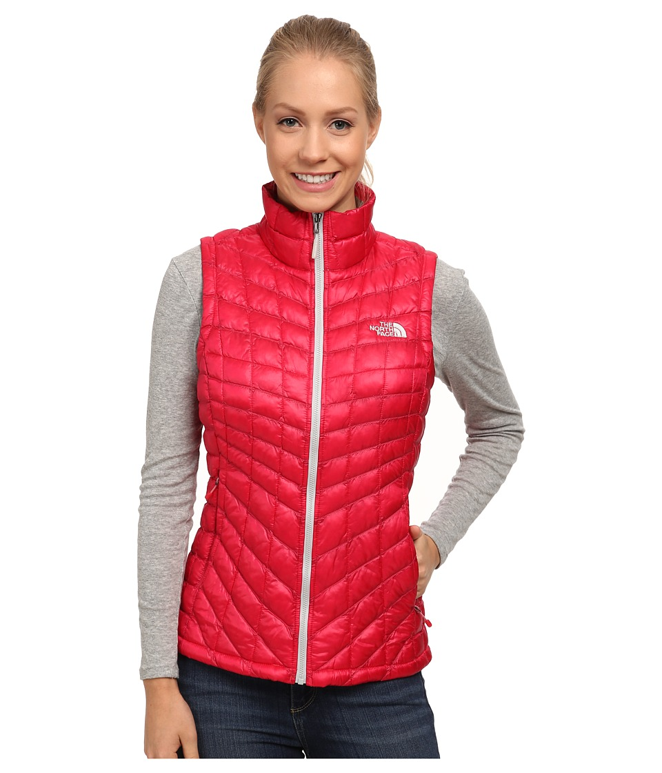 The North Face - ThermoBall Vest (Rose Red) Women's Vest
