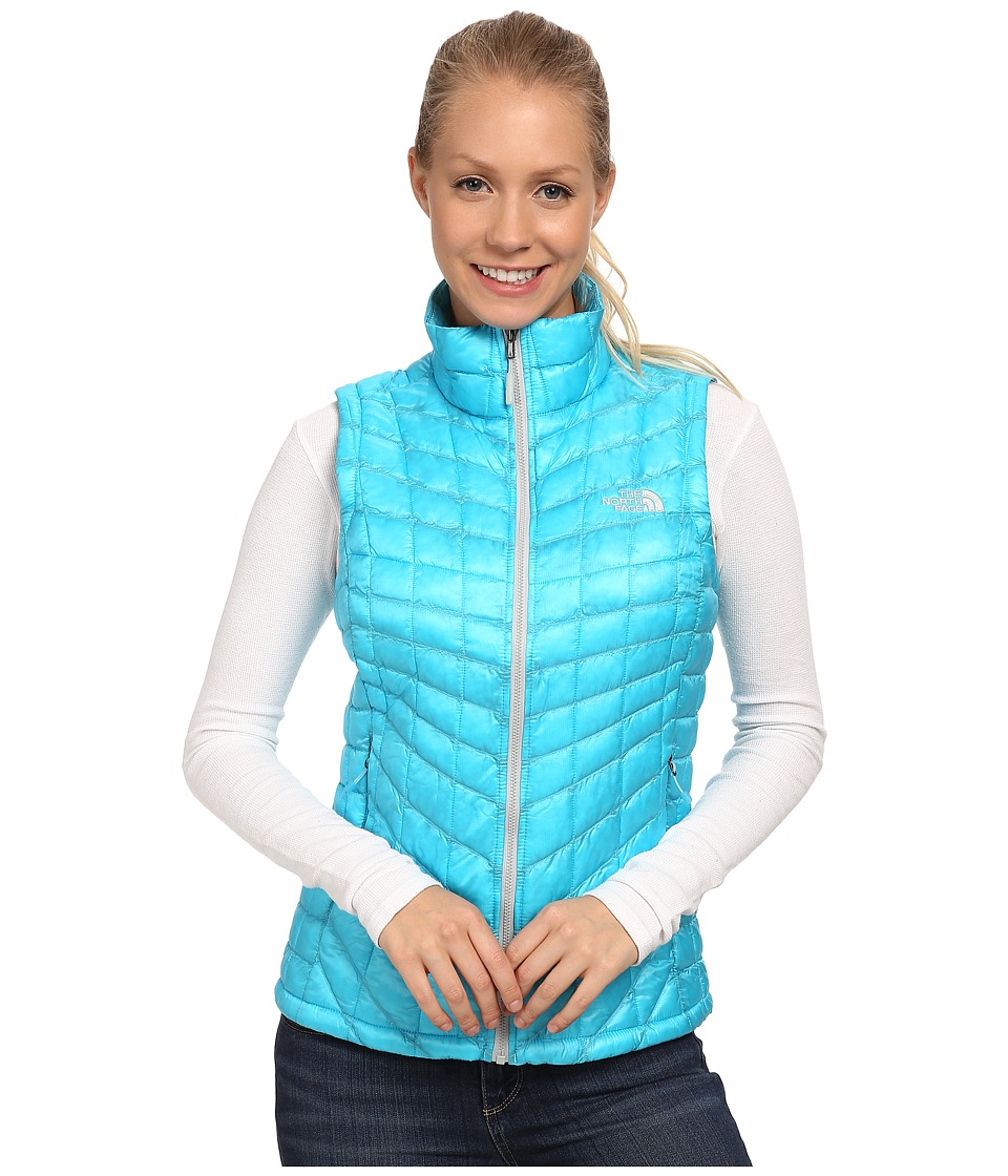 The North Face - ThermoBall Vest (Turquoise Blue) Women