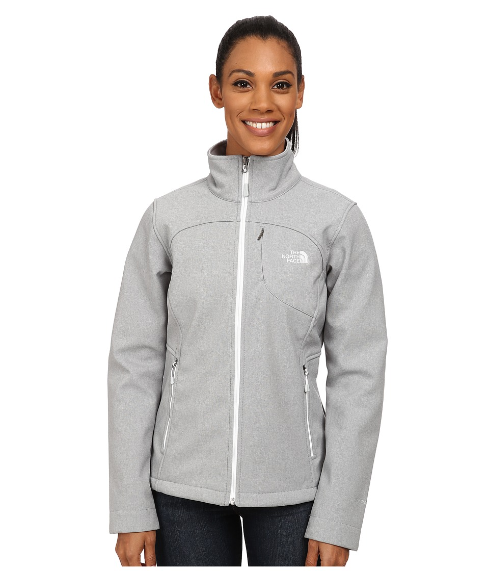 The North Face - Apex Bionic Jacket (High Rise Grey Heather/TNF White) Women's Coat
