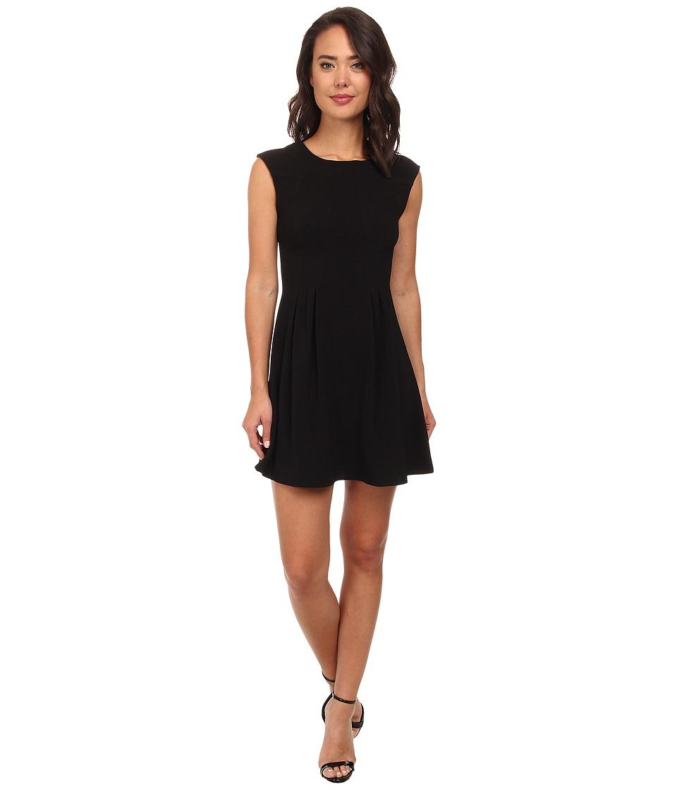Brigitte Bailey - Lexy Crepe A-Line Dress (Black) Women
