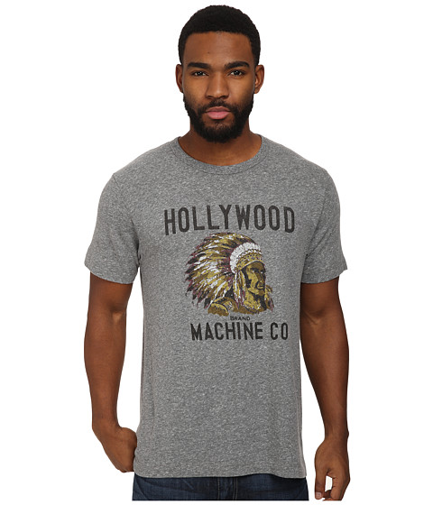 Tailgate Clothing Co. - Hollywood Machine Co. Tee (Grey Heather Blend) Men
