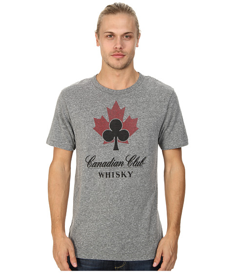 Tailgate Clothing Co. - Canadian Club Whisky Tee (Grey Heather Blend) Men's T Shirt