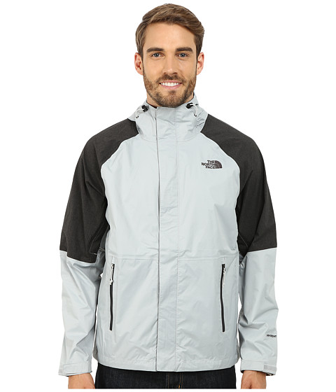 The North Face - Venture Hybrid Jacket (High Rise Grey/TNF Black Heather) Men's Coat