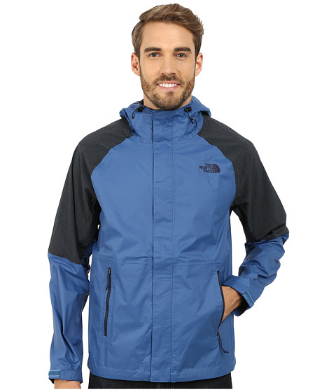 The North Face - Venture Hybrid Jacket (Dish Blue/Cosmic Blue Heather) Men's Coat