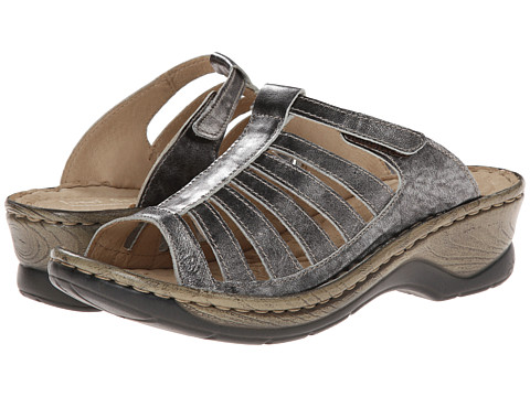 Josef Seibel - Claudia (Basalt Antik Metallic) Women's Sandals