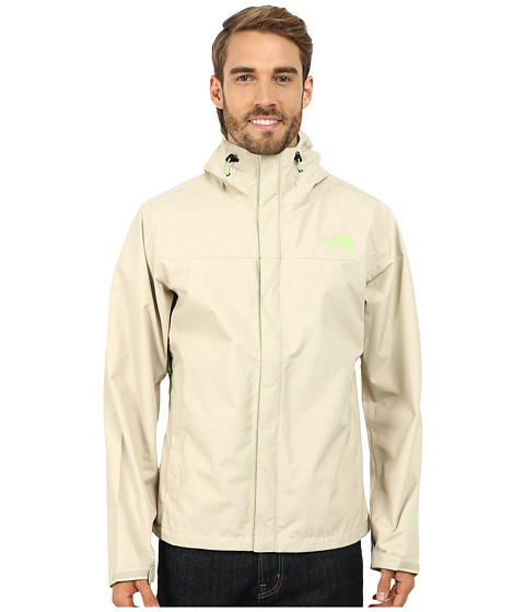 The North Face - Venture Jacket (Oatmeal Heather) Men's Coat