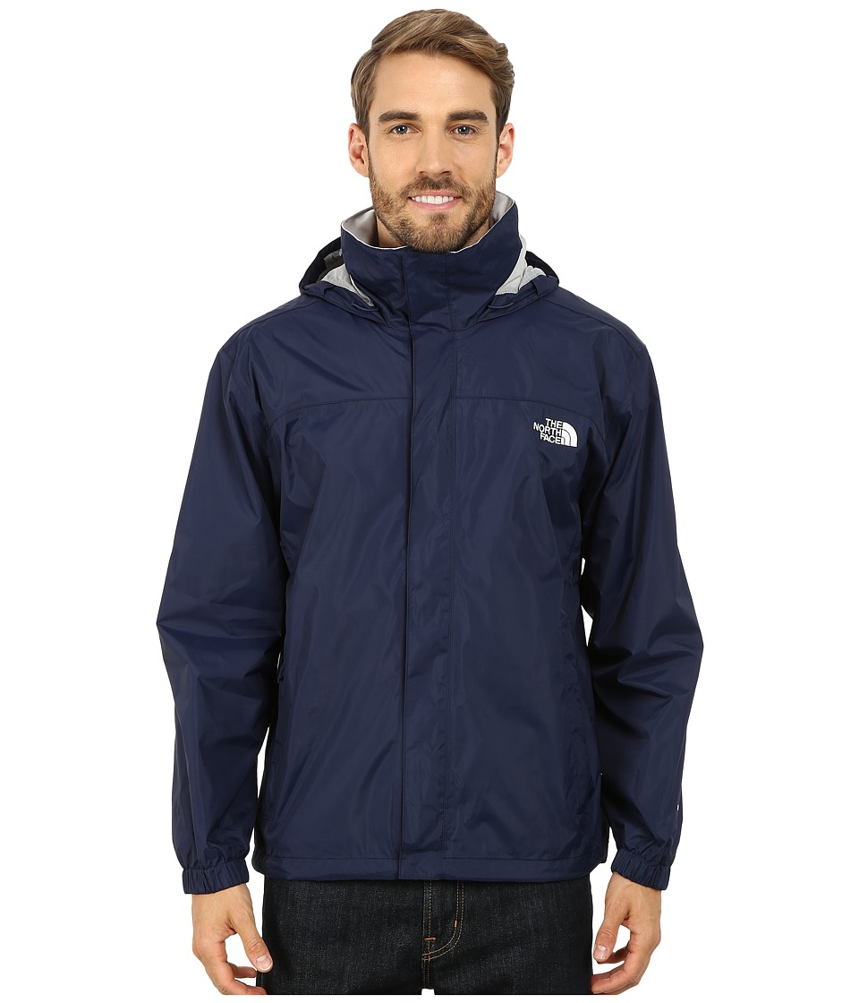 The North Face - Resolve Jacket (Cosmic Blue/High Rise Grey) Men's Sweatshirt