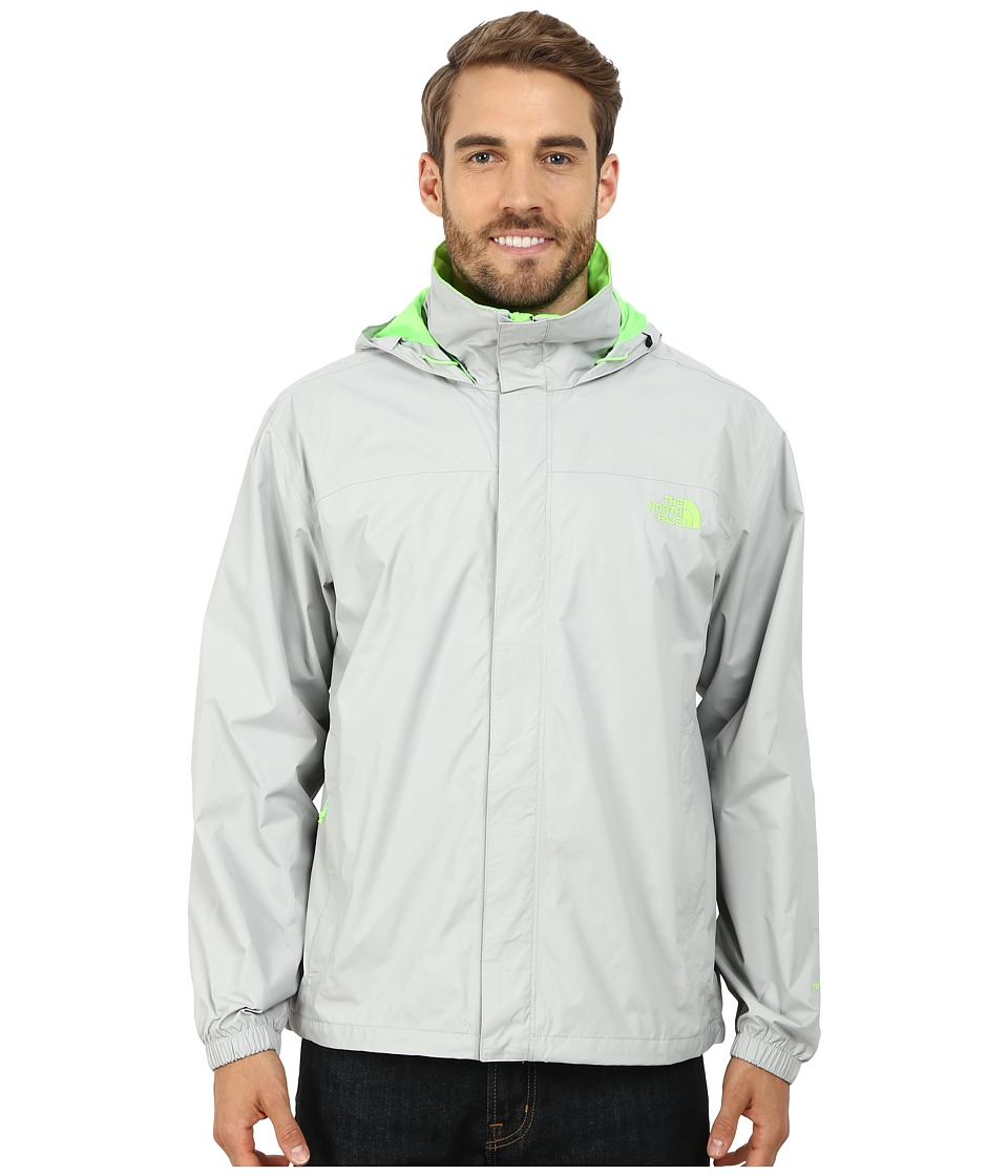 The North Face - Resolve Jacket (High Rise Grey/Power Green) Men