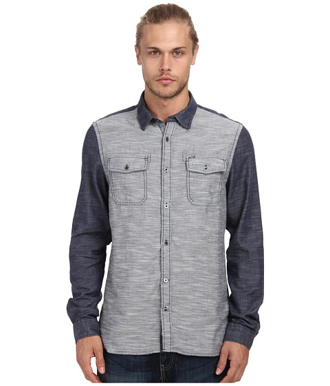 Buffalo David Bitton - Sage L/S Shirt (Charlie) Men's Clothing