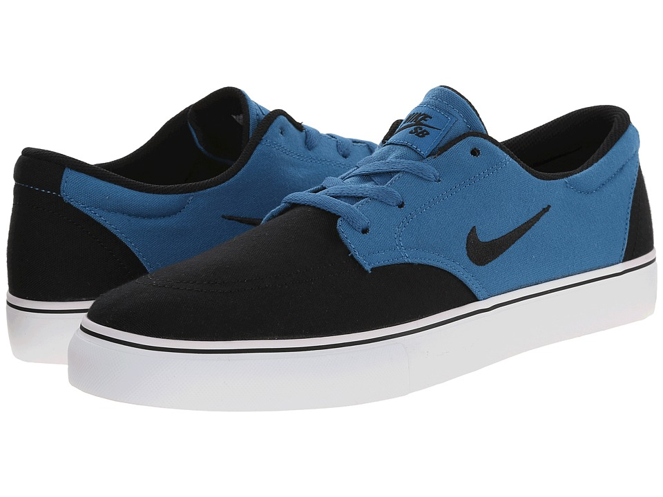 Nike SB - Clutch (Brigade Blue/Black/White) Men's Skate Shoes