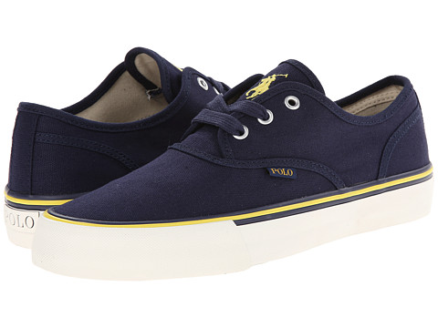 Polo Ralph Lauren - Morray (Newport Navy Canvas) Men's Shoes