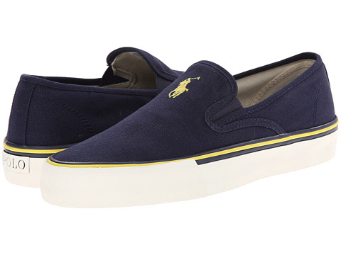 Polo Ralph Lauren - Mytton (Newport Navy Canvas) Men's Shoes