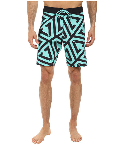 VISSLA - Foundation (Jade) Men's Swimwear