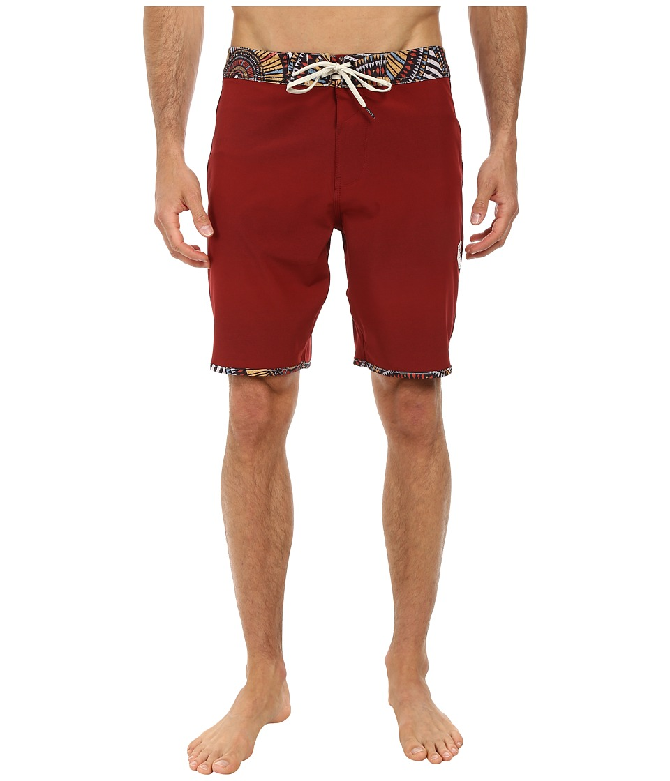 VISSLA - Mixed Plate (Blood) Men's Swimwear