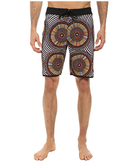 VISSLA - Skeleton Coast (Orange) Men's Swimwear