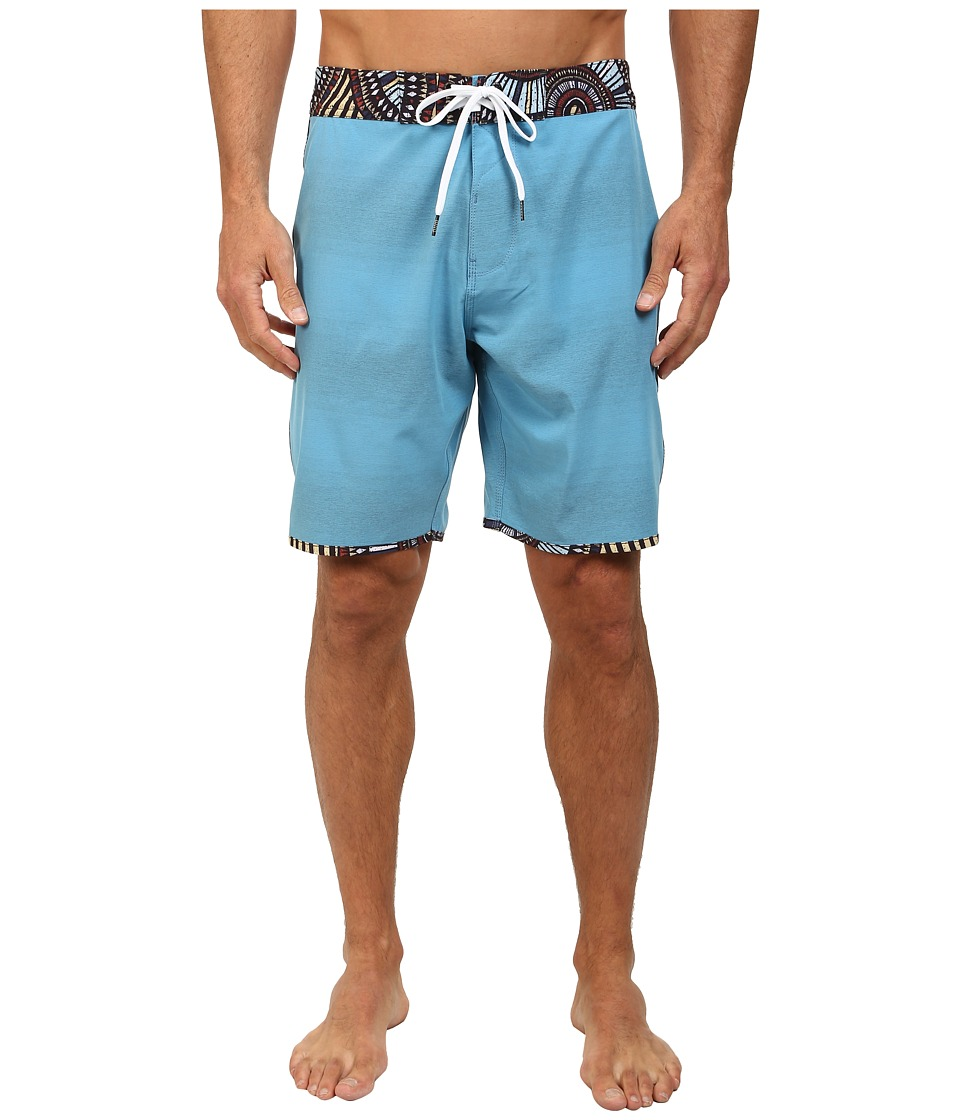 VISSLA - Mixed Plate (Blue Wash) Men's Swimwear