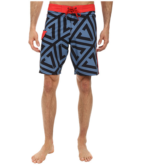 VISSLA - Foundation (Slate) Men's Swimwear