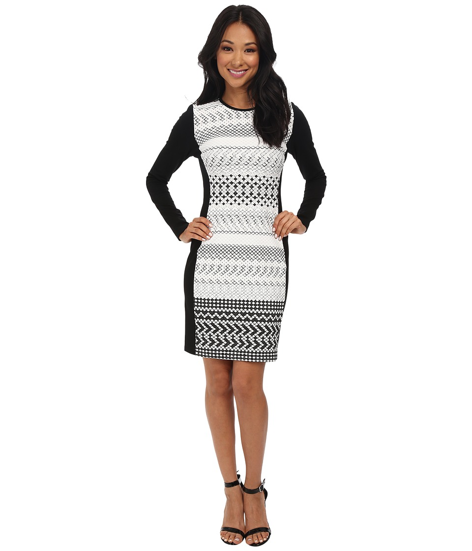 Shoshanna - Yeri Dress (Black/White) Women's Dress