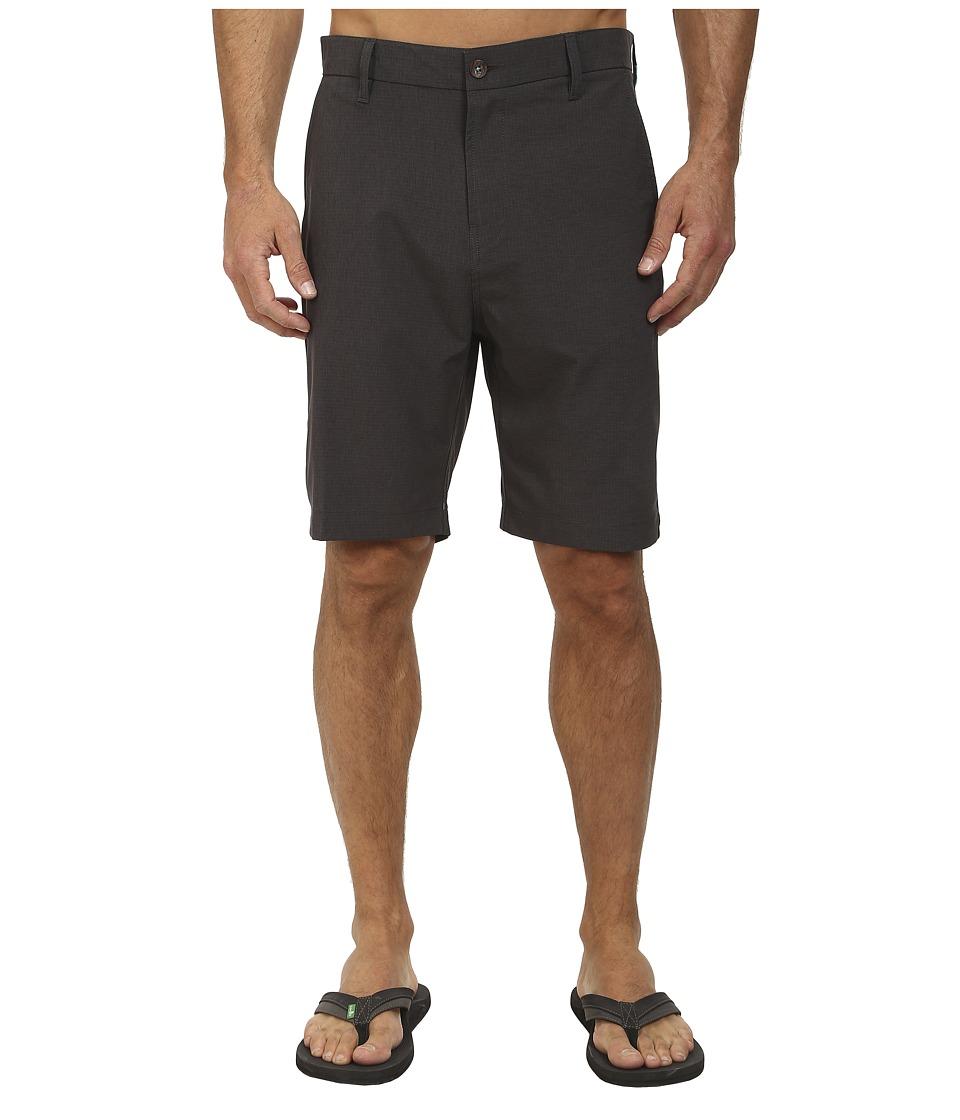 VISSLA - Tide Stripe Hybrid (Phantom) Men's Shorts