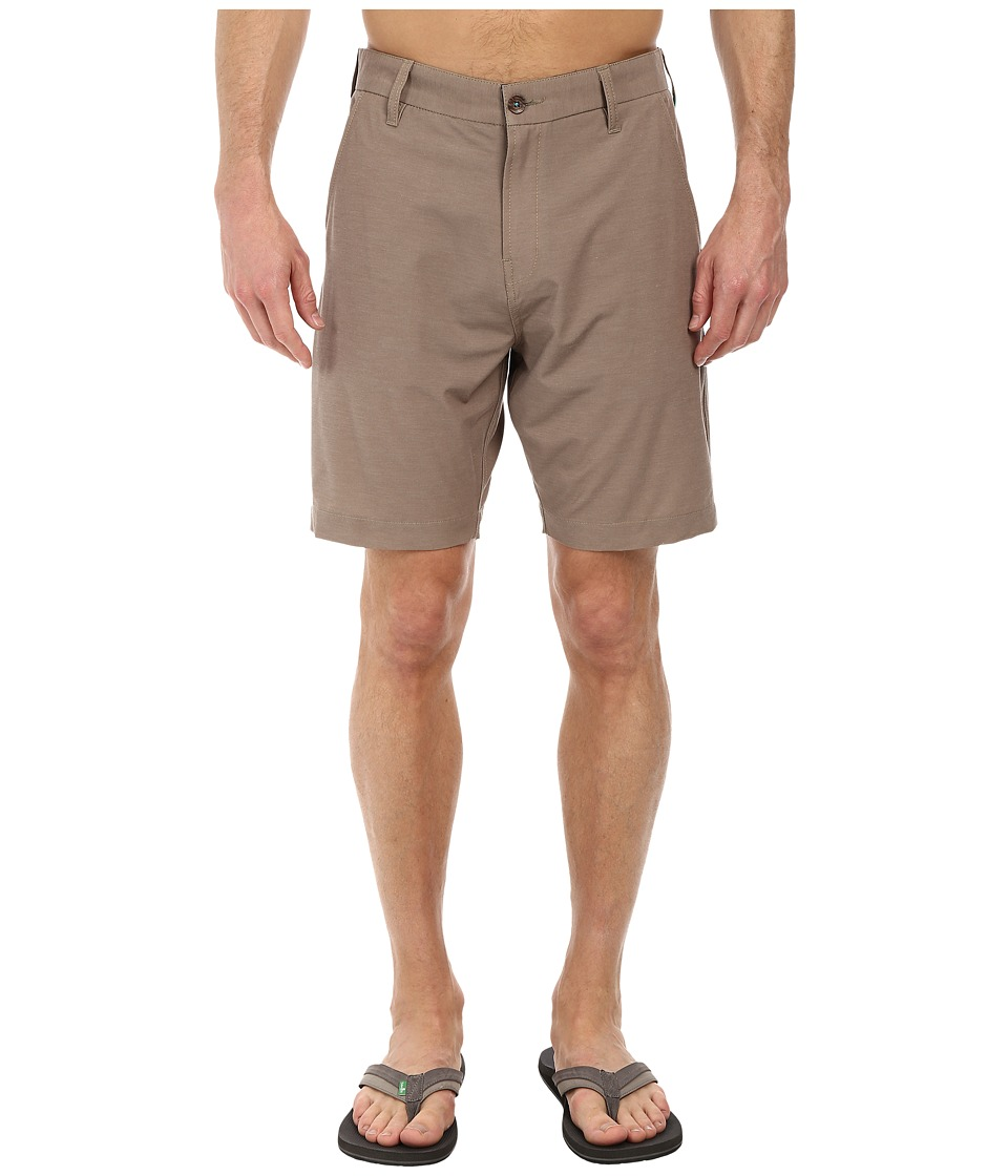 VISSLA - High Tide (Khaki) Men's Shorts