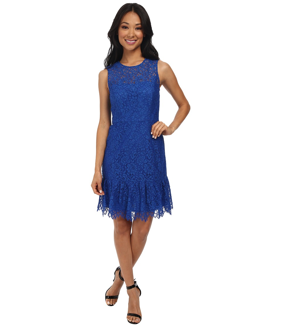 Shoshanna - Rainey Dress (Azure) Women's Dress