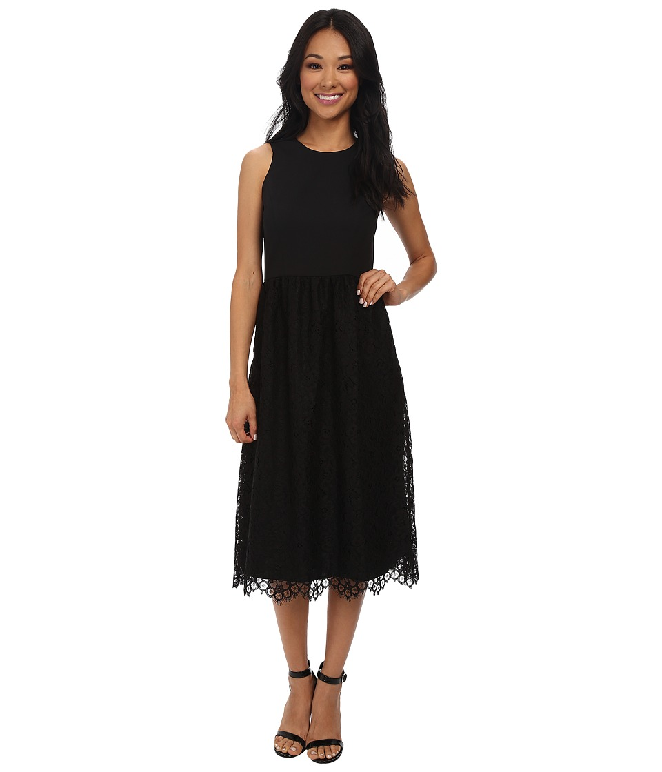 Shoshanna - Harlow Midi Dress (Black) Women