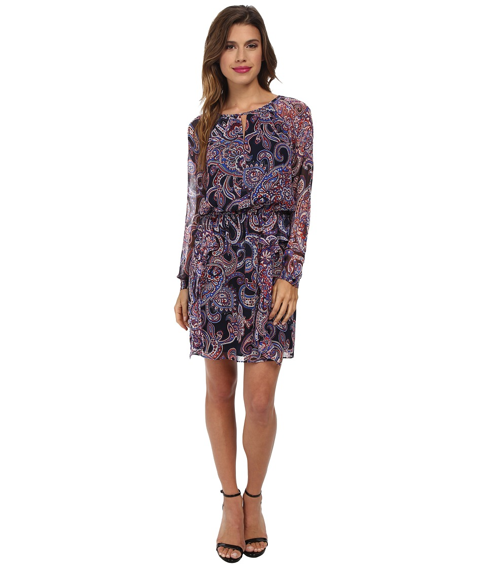 Shoshanna - Kesha Dress (Navy Multi) Women's Dress