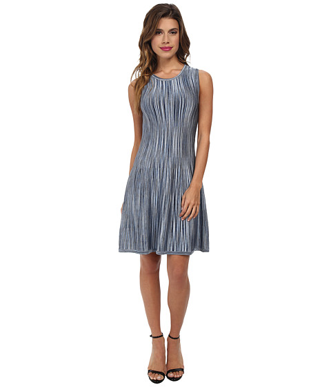 Shoshanna - Becky Dress (Blue Multi) Women's Dress