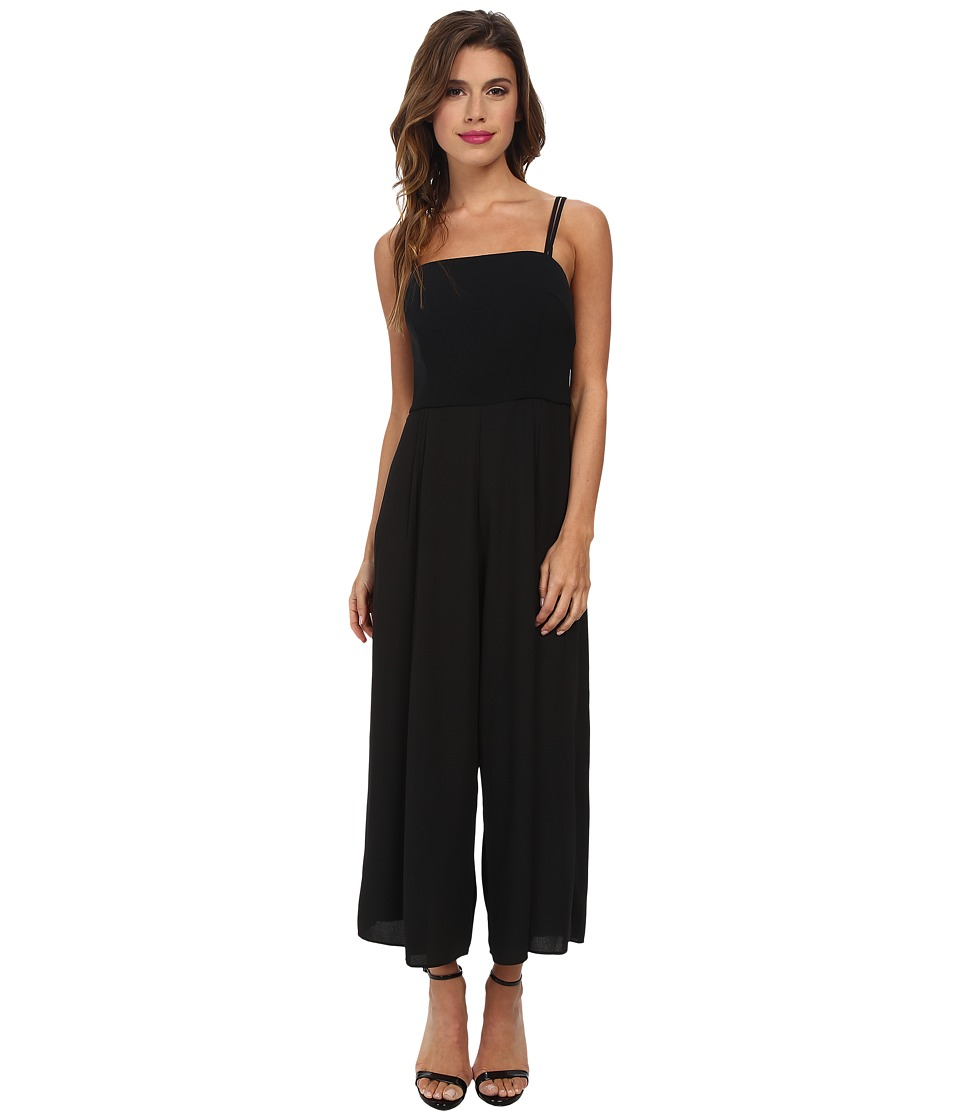 Shoshanna - Jaslene Jumpsuit (Black) Women's Jumpsuit & Rompers One Piece