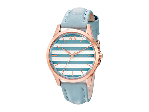 AX Armani Exchange - Lady Hampton (Blue) Analog Watches