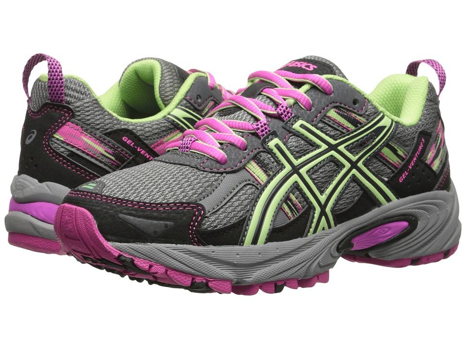 ASICS - Gel-Venture(r) 5 (Titanium/Pistachio/Pink Glow) Women's Running Shoes