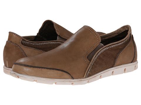 Bed Stu - Coaster (Brown Rust Garment Leather) Men