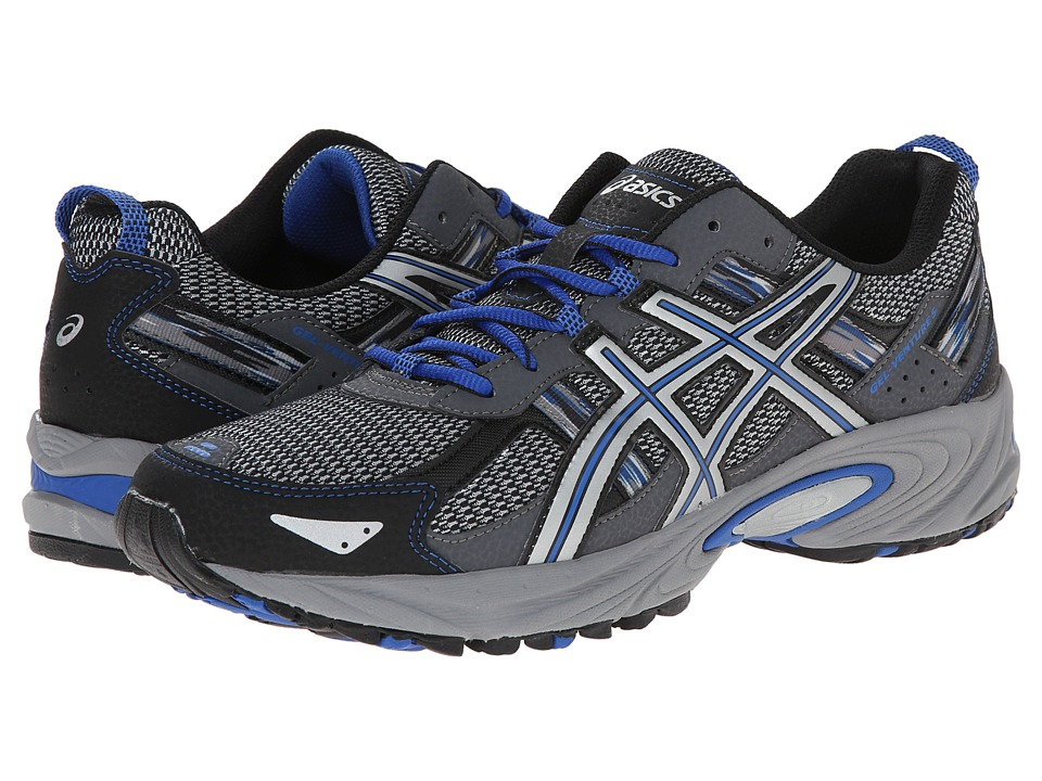 ASICS - Gel-Venture(r) 5 (Silver/Light Grey/Royal) Men's Running Shoes