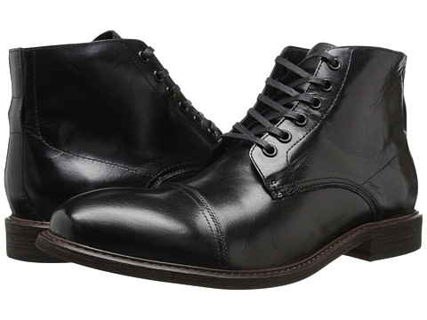 Kenneth Cole New York - Rough It Up (Black) Men's Lace-up Boots