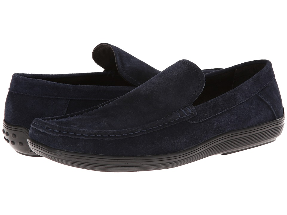 Kenneth Cole New York - Drive Me Crazy (Navy) Men's Slip on Shoes