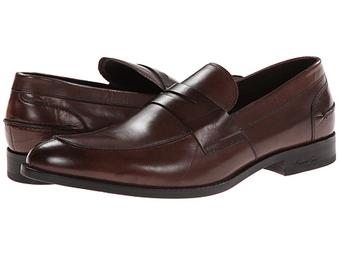 Kenneth Cole New York - Duke It Out (Brown) Men's Slip on Shoes