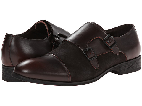 Kenneth Cole New York - Fast-En Up (Brown) Men's Slip on Shoes