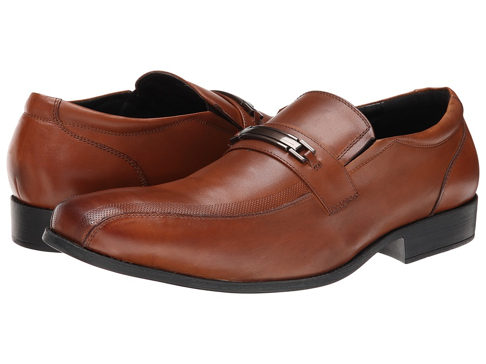 Kenneth Cole Reaction - Dew It Better (Cognac) Men's Slip on Shoes