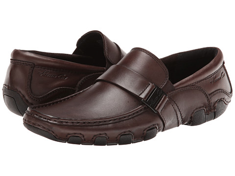 Kenneth Cole New York - Bar-Baric (Brown) Men's Slip on Shoes