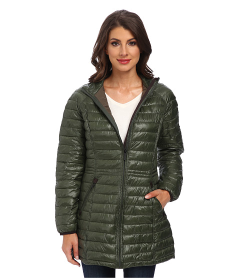 Rainforest - ThermoLuxe Quilt Topper (Olive) Women's Coat