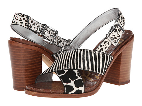 Sam Edelman - Ivy (Black/Ivory) High Heels