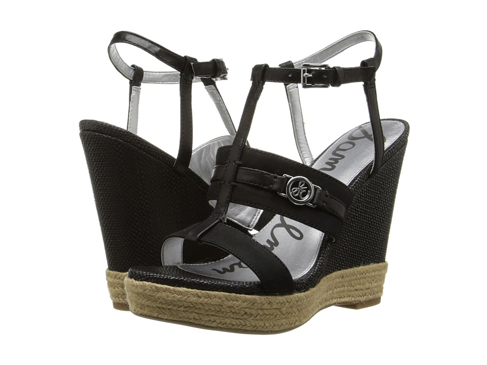 Sam Edelman - Karley (Black) Women's Wedge Shoes