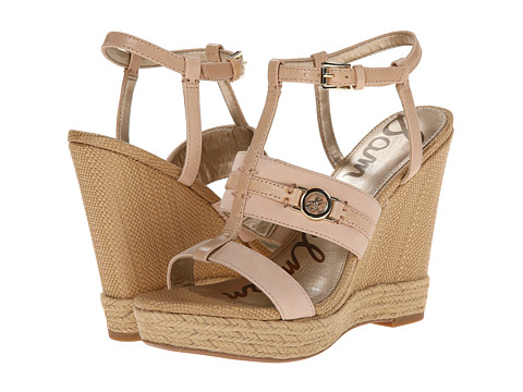 Sam Edelman - Karley (Peach Melba/Natural Naked) Women's Wedge Shoes