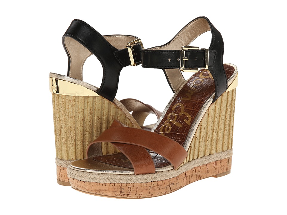 Sam Edelman - Clay (Saddle/Black) Women's Wedge Shoes