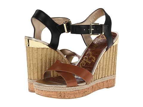 Sam Edelman - Clay (Saddle/Black) Women's Wedge Shoes