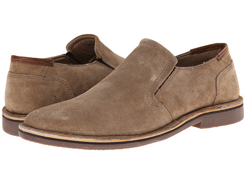 Kenneth Cole Reaction - Cross Thedeser (Taupe) Men's Slip on Shoes