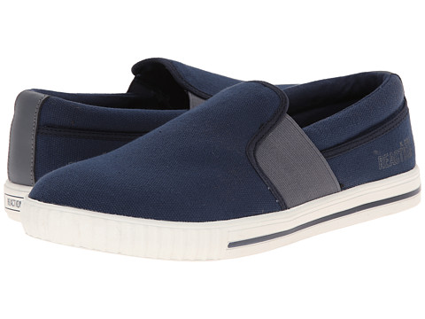 Kenneth Cole Reaction - Never Again (Navy) Men's Slip on Shoes