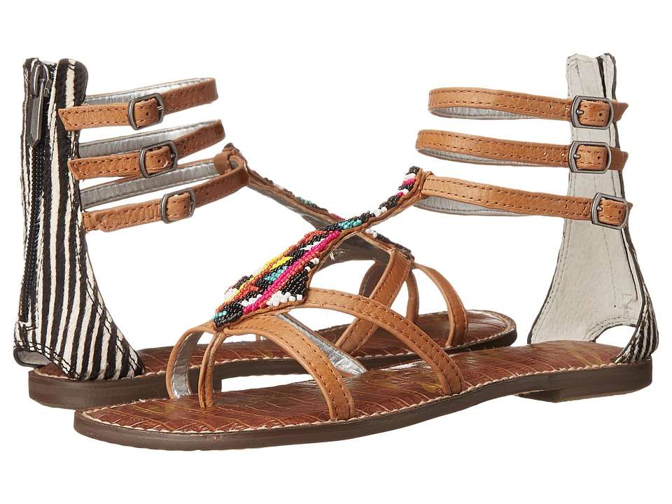 Sam Edelman - Giselle (Soft Saddle/Black/Ivory) Women's Sandals